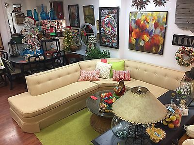 Mid Century Modern Sectional-Reupholstered.