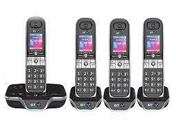BT 8600 Advanced Call Blocker Cordless Home Phone with Answer Machine (Quad Hand
