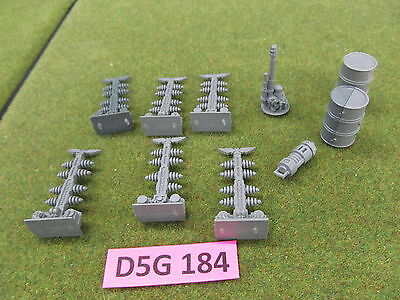 Warhammer 40K Battlefield Accessories Force Field Generator Pylons Scenery j