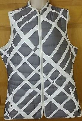 New Womens Nike Golf Vest X-Large XL Gray NWT