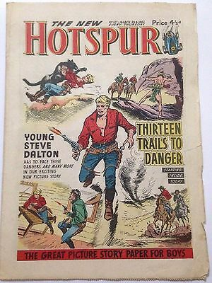 DC Thompson. THE HOTSPUR March 24th 1962. Issue 127 **FREE UK POSTAGE**