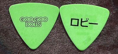 GOO GOO DOLLS 2016 Boxes Tour Guitar Pick!!! ROBBY TAKAC custom concert stage #1
