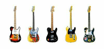 Famous Fender Telecaster Guitars #1 Greeting Card, DL Size