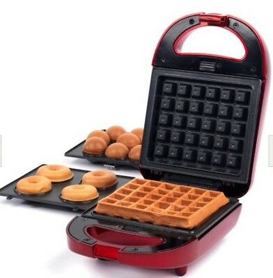 Tempting Treats 3-in-1 Treat Maker, Doughnuts, Cakes & Waffles