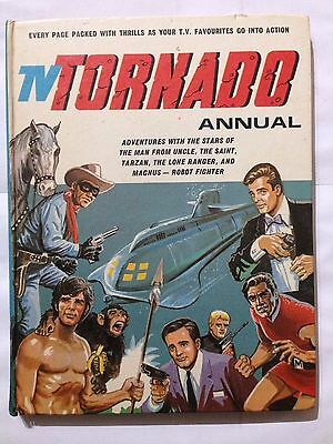 TV TORNADO Annual 1969. Good Condition For Age **Free UK Postage**