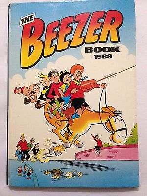 THE BEEZER BOOK. 1988 Annual Good Condition ******FREE POSTAGE*****