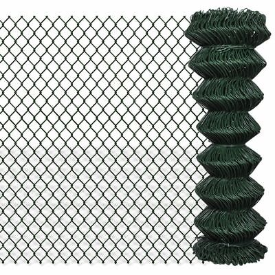 #bNEW Galvanized Steel Wires PVC Coating Garden Fencing Green Sizes Selectable