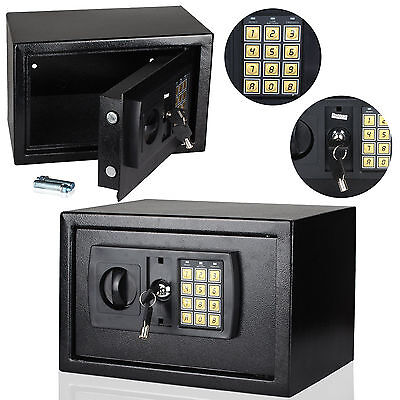8.5L Digital Steel Safe Electronic Security Home Office Money Cash Safety Box By