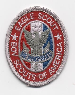 "Eagle Scout Rank Patch Type 13-A1, w/ ""Since 1910"" Slogan Backing, Mint!"