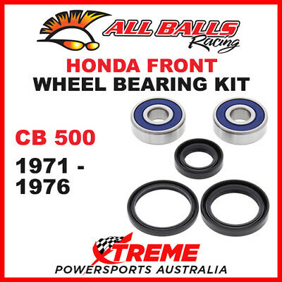 25-1307 Honda CB500 CB 500 1971-1976 Front Wheel Bearing Kit