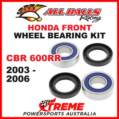 25-1654 Honda CBR600RR CBR 600RR 2003-2006 Front Wheel Bearing Kit