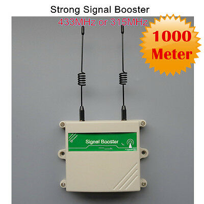 315MHz Wireless RF Detector or Remote Control Repeater Signal Booster Extender