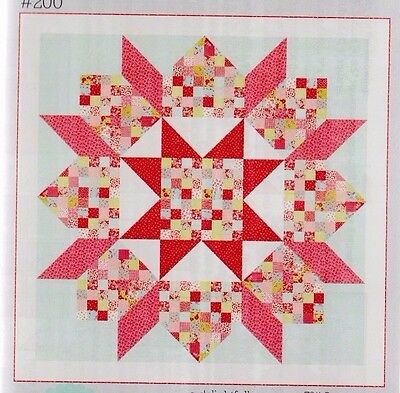 Patchwork Swoon - modern pieced quilt PATTERN - Thimble Blossoms