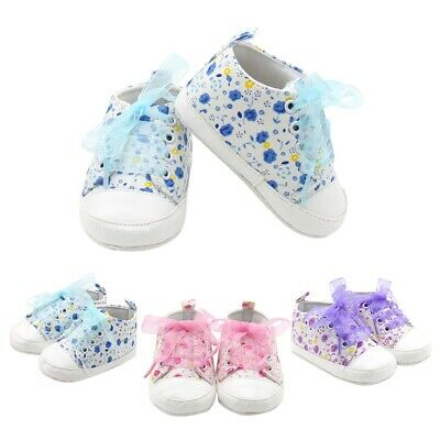 Cute Infant Sneakers Toddler Baby Boy Girl Soft Sole Crib Shoes 0-18 Months