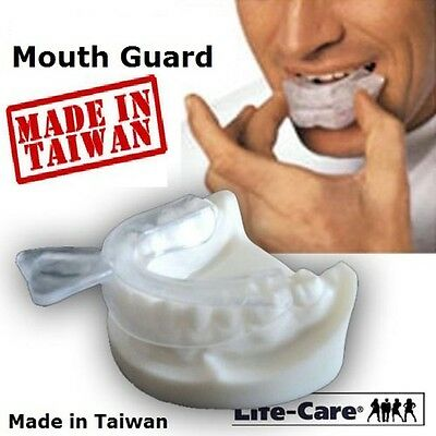 2 X NIGHT MOUTH GUARD (1.2cm) GUM SHIELD TRAY FOR BRUXISM / TEETH GRINDING  PL