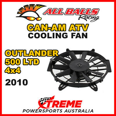 All Balls 70-1017 Atv Can-Am Outlander 500 Ltd 4X4 2010 Cooling Fan Assembly