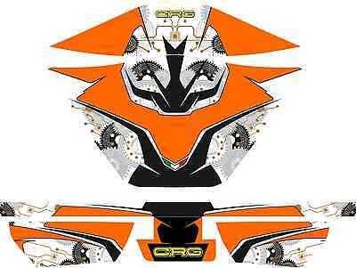 Crg Style Rotax Airbox Sticker Kit - Karting