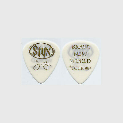 Styx James Young authentic 1999 tour Guitar Pick