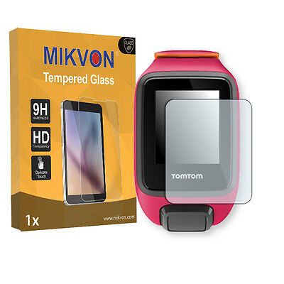 1x Mikvon flexible Tempered Glass 9H for TomTom Runner 3 Screen Protector