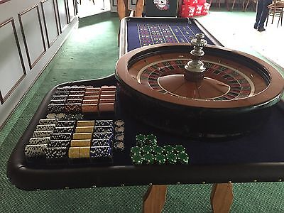 Birthday Party, Wedding Hire Fun Casino tables, Roulette, DJ & Singer Package