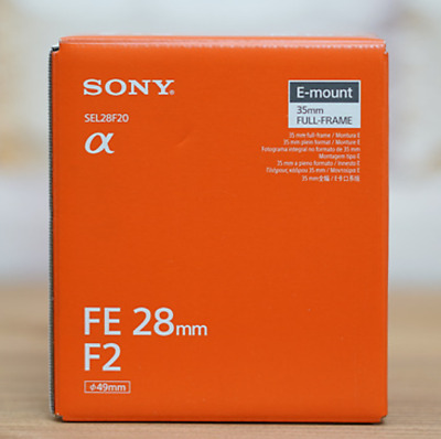 Sony FE 28mm f/2 Lens SEL28F20 Lens (Express Shipping)