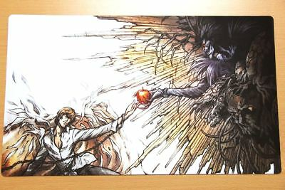 N674 FREE MAT BAG Ryuuku Death Note Trading Card Game Playmat Large Mouse Pad