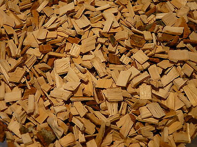 BBQ SMOKING WOOD CHIPS - Premium Hickory Woodchips 1/2kg Bag - FREE DELIVERY