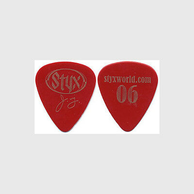Styx James Young authentic 2006 tour Guitar Pick