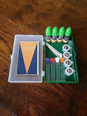Soil Testing Kit,  For pH, N, P & K. soil tester,  - 50 tests Gardener test kit