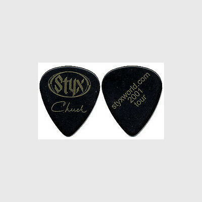 Styx Chuck Panozzo authentic 2001 tour Guitar Pick