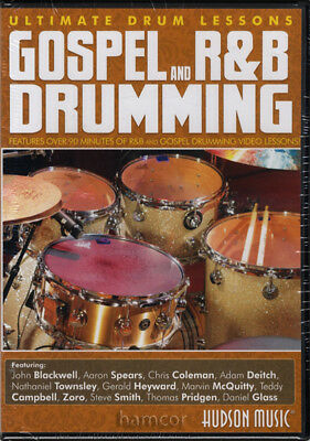Gospel and R&B Drumming Ultimate Drum Lessons DVD