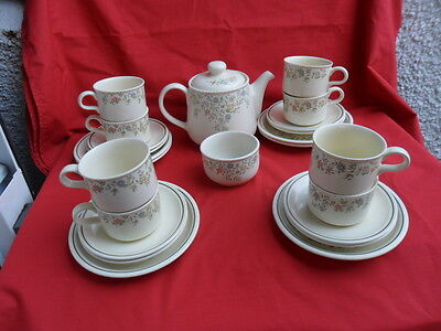 British Home Stores (BHS) Country Garland Teaset
