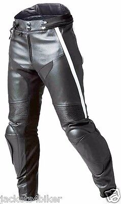 Bmw Mens Racing Biker Pant Motorcycle Leather Trouser Motorbike Leather Trouser