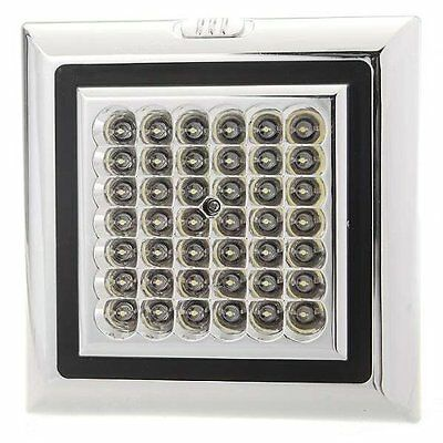 12V 42 LED Car Vehicle Indoor Roof Ceiling Lamp Interior Dome Light Square FK