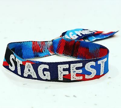 STAGFEST Stag Do Party Wristbands / stag do party accessories