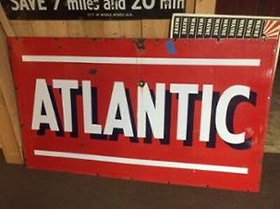 "Atlantic Advertisement Sign 42"" x 72"""