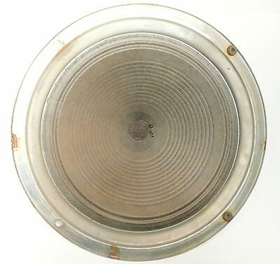 "vIntage * GENERAL ELECTRIC L-915-W SPEAKER 14 & 3/8""  Tested/Working - GOOD CONE"