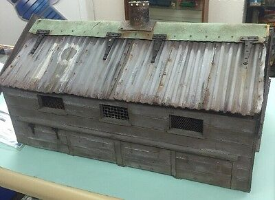 Chicken Run Prop Chicken Shed 2002 Screen Used With Provenance