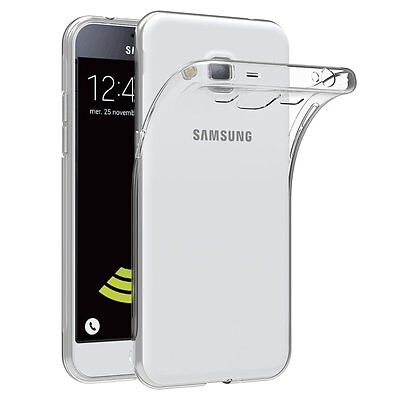Cover Custodia Per Samsung Galaxy J3 2016 J320 Morbida Trasparente Ultra Slim