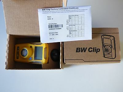 BW Technologies BWC2-H GasAlert Clip Un-Activated Gas Monitor
