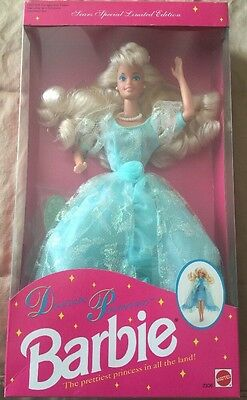 1992 DREAM PRINCESS Barbie Doll Sears Special Limited Edition #2306 NRFB