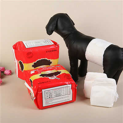 Male Puppy Pet Dog Belly Wrap Band Diaper Nappy Pants Sanitary Underwear XS-M