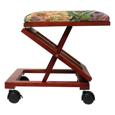 Evelots Foldable & Comfortable Footrest, Vintage Style