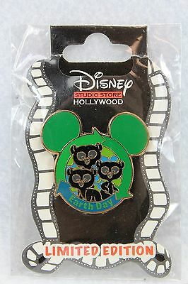 Disney DSF LE 400 Pin Earth Day Brave Cubs Merida Triplets