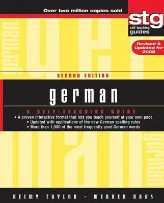 German A Self-Teaching Guide by Heimy Taylor 9780470165515 (Paperback, 2007)