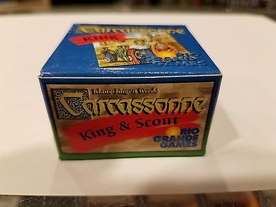 Carcassonne: King & Scout Small Box Expansion NEW Unused