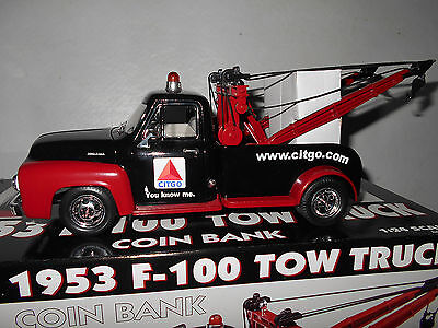Gearbox 1953 F-100 Tow Truck Coin Bank - Citgo - Limited Edition - New in Box