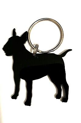 English Bull Terrier/Bullie/Dog Keyring/Bag Charm