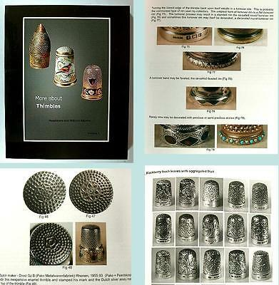 """New """"More About Thimbles"""" Reference Book Vol 1 * William & Magdalena Isbister"""