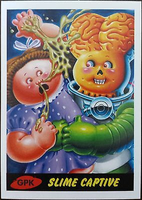 2015 Topps Mars Attacks Occupation Garbage Pail Kids GPK Slime Captive Card
